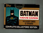 TOPPS 1989 Batman Movie Cards Factory Sealed Box 143 Cards & 22 Stickers (I8 I9)