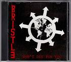 Bristle - Won't Die For You - CD (RNR08 Ransom Note)