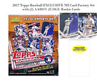 Topps Baseball 2017 Complete Retail Factory Set(705 Cards)2 Aaron Judge Rookies