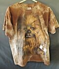 Authentic Lucas Films Sar Wars CHEWBACCA T-Shirt size Large Guc
