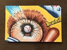 Wacky Packages Go To The Movies Shaped Artist Return Sketch Card Bean Ball GPK