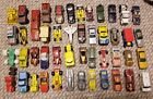 LOT of 47 vintage 1980s Diecast Matchbox and Hotwheels Cars and Trucks