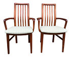 Pair of 1970s Danish Modern Sva Mobler Teak Arm Chairs - Mid Century Modern