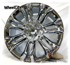 22 inch chrome Cadillac Escalade GMC Chevy 2018 2017 OE replica rims 6x55 +24