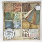 BASIC GREY 12X12 MOTIFICA SCRAPBOOK PAPER COLLECTION PACK SET HTF OOP RETIRED