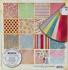 BASIC GREY 12X12 LOLLIPOP SHOPPE SCRAPBOOK PAPER COLLECTION PACK HTF OOP RETIRED