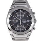 Seiko Sports Stainless Steel Chronograph Watch SNA421P1 - BRAND NEW RRP £219.00