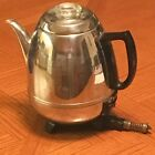 Vintage General Electric Automatic Percolator Coffee Pot 18P40 9 cup