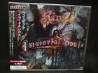 RIOT Immortal Soul + 1 JAPAN CD Mark Reale Halford Fates Warning Faith And Fire
