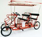Four Person Surrey Cycle 4 Wheel Surrey Bike 4 Person Bicycle Quadricycle