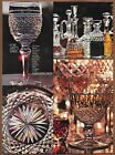 Waterford Crystal Single Page Print Ad 1980 For Arts Sake