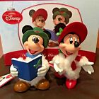 NIB Department 56 Disney Classics Mickey and Minnie Carolers Possible Dreams