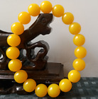 DELICATE CHINESE BEESWAX BEAD HANDWOVEN BRACELET ,NICE GIFT