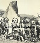 3 6 foot long Panoramic Photo Native American Indian UTE Indian Old Picture