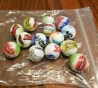 14 Rare Snapon tools GLASS  SHOOTER MARBLES collectible