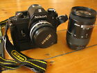 NIKON EM Set incl. Winder & Objekive 50mm Serie E & AF Nikkor 35-135mm Top