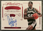 2014-15 Panini Flawless Super Signatures Ruby Autograph David Robinson 9 15