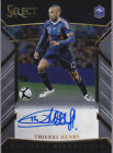 2017-18 Panini Select Thierry Henry Historic Signatures Auto # 199 France