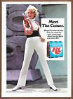 RC Cola Pamela Austin Single Page Print Ad 1969 Root For The Mets