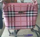 Pink Burberry Bag