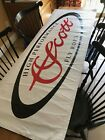 Dealership Fly Rod Banner Scott High Performance Fly Rods 62 x 22 Dbl Sided