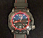 Visconti Full Dive Black & Red Diver with Watch Winder Retail $3,750