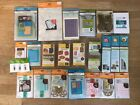 HUGE Cricut Bundle 5 Cartridges 6 Blades 18 Cuttlebug Folders Dies