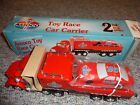 AMOCO 1995 TOY RACE CAR CARRIER 2ND IN SERIES