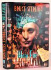 Holy Fire Bruce Sterling Heavy Weather SIGNED First Edition HC DJ SCI FI