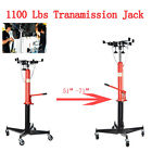 A++ 1100LBS 2 Stage Hydraulic Transmission Jack 360 Swivel Wheels For Car Lift