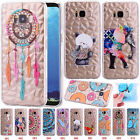 Diamond Textured Pattern Soft TPU Case Protective Phone Cover For Samsung Galaxy