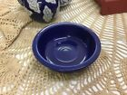 Vintage Fiesta Ware Fruit Bowl-5 1/2 In Round-Blue-ca 1936-A Must Have :-)