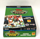 1991 Topps Stadium Club Football Cards Box of 36 sealed packs