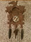 CUCKOO CLOCK MADE IN GERMANY WITH MUSIC BOX DOUBLE DOOR