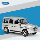 New Welly 124 Mercedes Benz G Class SUV Gray Model Diecast Cars In Box
