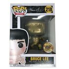 Anime Expo 2018 BAIT Funko POP Gold Bruce Lee Exclusive #218