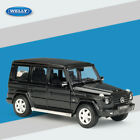 Welly 124 Mercedes Benz G Class SUV Model Diecast Cars Black In Box