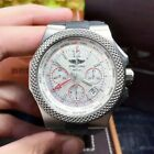 BREITLING BENTLEY GMT EB043335/G801 45mm Titanium Chronograph Men's Watch White