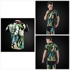 Vintage Flower Cycling Jersey Men Retro Mtb Bike Bicycle Clothing Reflective Rop