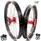 21/18 ENDURO WHEEL RIM FIT HONDA CR125R CR250R 1996-1999 CR500R 96-01 RED NIPPLE