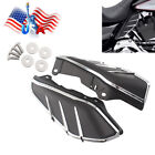 Flame Mid-Frame Engine Air Deflector Heat Shield Trim For Harley Touring 2009-up