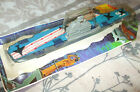 1978 TOOTSIE TOY WWII SEA POWER Diecast 8 Aircraft Carrier Top part of card