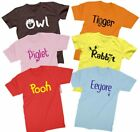 Pooh T shirt Disney Winnie the Pooh Bear red costume cosplay Shirts all sizes