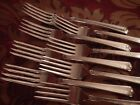 EDWARDS DEEP SILVER  BRIGHT FUTURE set of 8 dinner forks