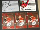 2008 LANCE LYNN TRISTAR AUTO PRINTING PLATE 1 OF 1+ BASE +3 PLAYOFF ROOKIE CARDS