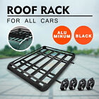 Universal Aluminum Car Roof Cargo Carrier Luggage Basket Rack Top Wcrossbars