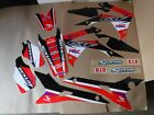 TEAM HONDA RACING GRAPHICS  CRF250R  2014-2017 & CRF450R  2013 2014 2015 2016