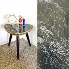 Tripod Mid Century Plant Stand Table Display Side End Table Formica Vintage Gray
