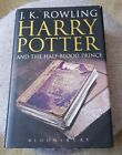 HARRY POTTER AND THE HALF BLOOD PRINCE BLOOMSBURY HARDBACK 2005 FIRST EDITION