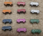 lot 12 Vintage 1960s Diecast VW volkswagen micro bus mini metal token cars MF